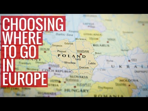 How to Choose Where to Go on Your Europe Trip