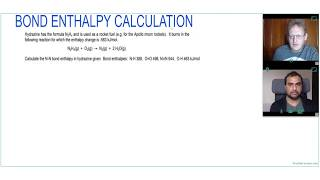 HOW to CALCULATE BOND ENTHALPY in ROCKET FUEL
