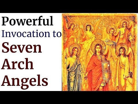 Protection of Seven  Arch Angels, Michael, Raphael, Gabriel, Jehudiel, Uriel, Sealtiel, Barachiel