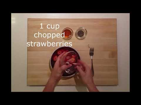 Thumbnail to launch Strawberry Jam & Overnight Oats: Nourish Program video