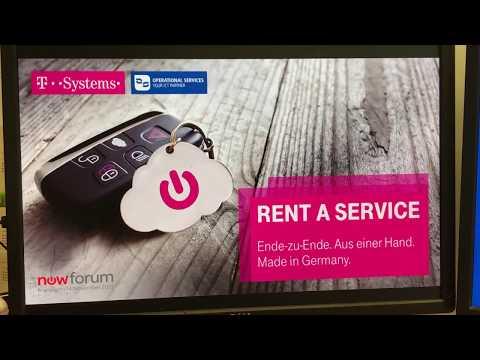 Rent-a-Service   ServiceNow (NowForum 2017, Frankfurt)