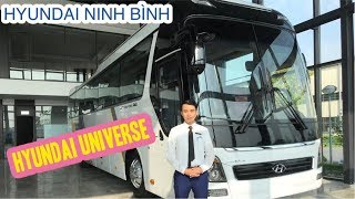 XE KHÁCH CAO CẤP 47 CHỖ HYUNDAI UNIVERSE 2019 TẠI NHÀ MÁY HYUNDAI NINH BÌNH