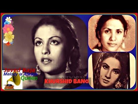 .KHURSHEED Bano~Film~MUMTAZ MAHAL-(1944)-Jo Humpe Guzarti Hai-[ Great Rarest Gem ]