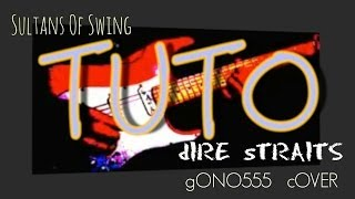Sultans of Swing - dIRE sTRAITS - tutorial - cover -