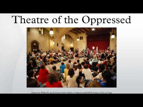 boal s theater of the oppressed This dissertation analyzes the contributions of augusto boal to the theory and practice of contemporary theatre presenting the political nature of boal's theories i will focus on the practical applications of augusto boal's theatre of the oppressed in turkey in an effort to understand if theatre of.