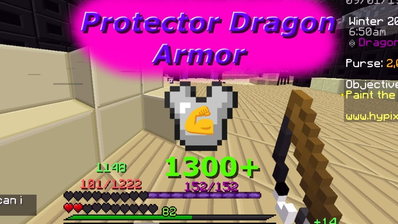Protector Dragon Armor Is Op 1300 Defence Hypixel Skyblock Youtube Base items have four ranks protector dragon armor is op 1300 defence hypixel skyblock