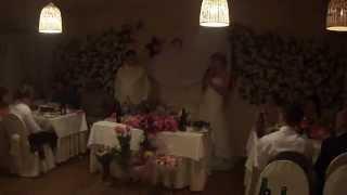 Спасибо  гостям в конце свадьбы (12 07 2013)