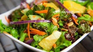 Orange Salad Recipe (4K)