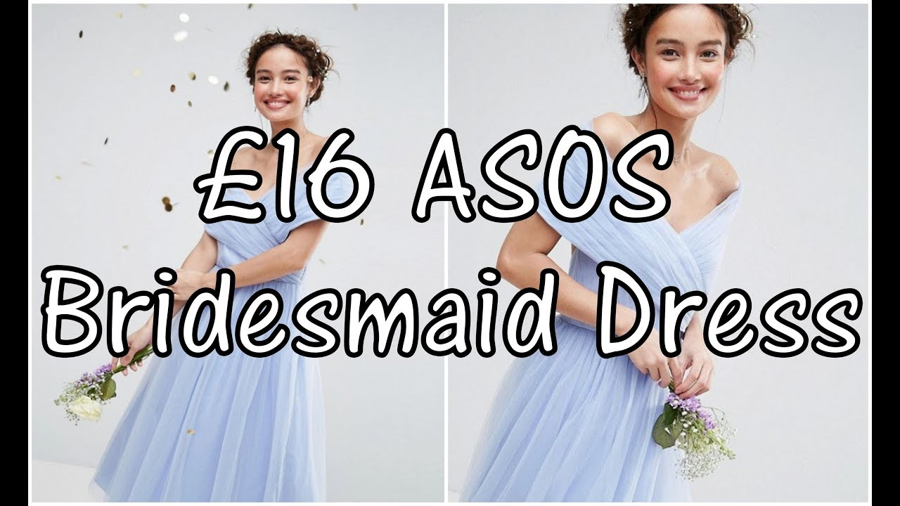 0df3b92279a Cheap ASOS Bridesmaid Dresses - Try On Unboxing   Review