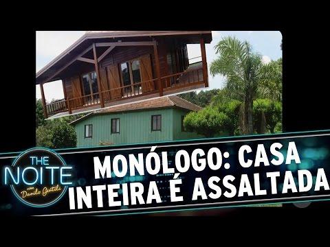 The Noite (22/09/16) - Monólogo: Assaltantes roubam uma casa INTEIRA em Maringá