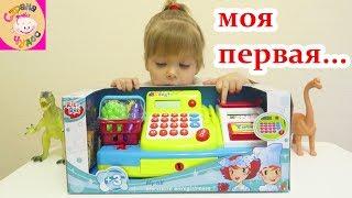 Игровой набор детская музыкальная «Касса» Rik&Rok Ашан