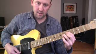 Jump Blues Guitar Lesson - Horn-based Rhythm Ideas