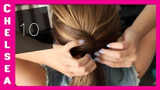 Download 10 EASY School Hairstyles! Short & Long - Chelsea Crockett Mp3 and Videos