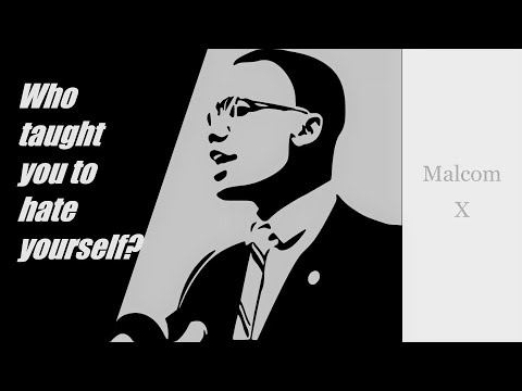 Malcolm X in Los Angeles May 5, 1962 Who taught you to hate yourself? full speech