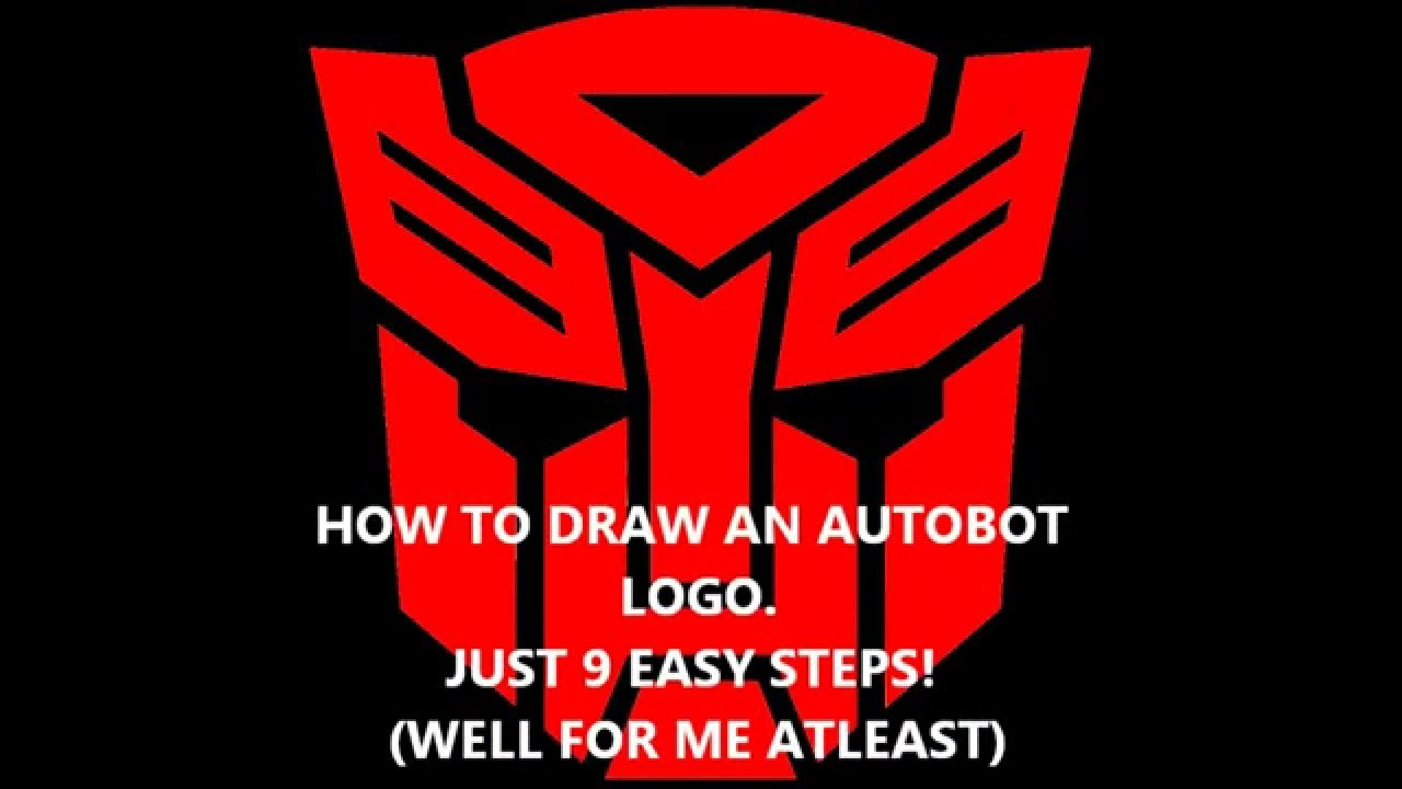 How to draw the autobot logo youtube biocorpaavc