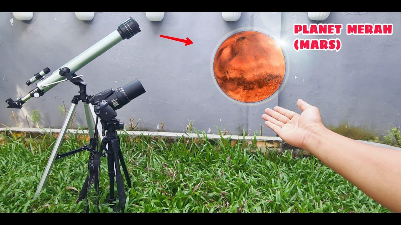 TELESCOPE ZOOM 1000X:  MARS  &  BADAI NON-STOP PLANET JUPITER SAMPAI SAAT INI