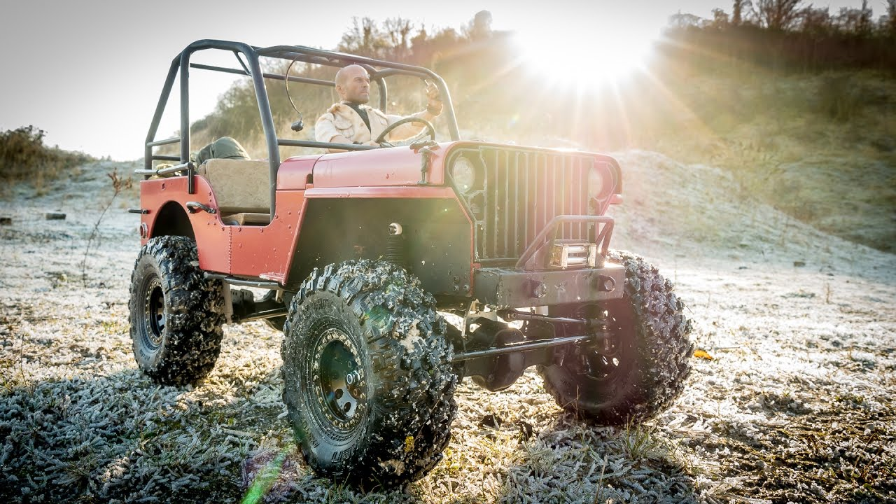 Flat Fender Jeep >> RC Truck Off Road 4x4 - Willys Flatfender 1/6 Scale RC ...