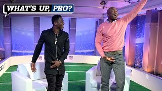 Antonio Brown demonstrates how to do his TD dance (What's Up, Pro?)