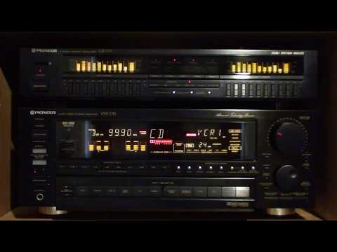 Pioneer VSX-D1S Receiver & GR-777 Graphic Equalizer