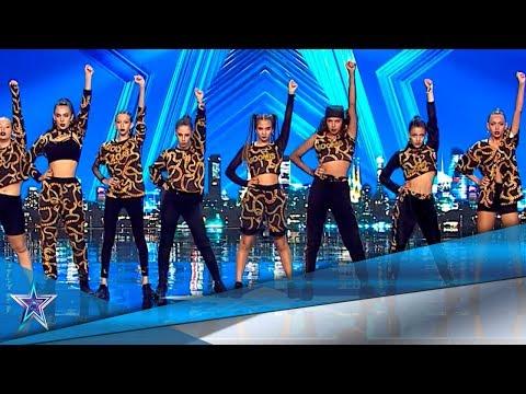 Estas CHICAS te harán BAILAR con sus COREOGRAFÍAS   Audiciones 4   Got Talent España 5 (2019)
