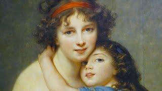 Vigée Le Brun, Self-Portrait With Her Daughter, Julie