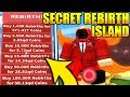 SECRET REBIRTH ISLAND GIVES INFINITE REBIRTHS IN ICE CREAM SIMULATOR! *Tutorial* (Roblox)