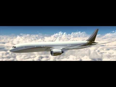 B787-9 Dreamliner Animation