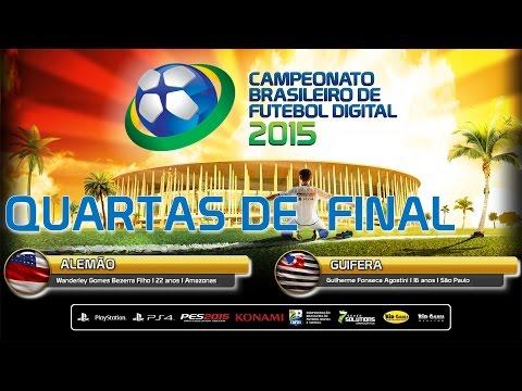 Quartas de Final CBFD2015 (ALEMÃO-AM X GUI FERA-SP)