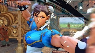 Omega Chun-Li EX Spinning Bird Kick followed by Ultra 1 Hosenka