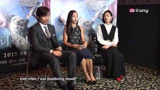 Video Showbiz Korea-PRESS CONFERENCE OF MEMORIES OF THE SWORD영화<협녀, 칼의 기억> 제작발표회 download MP3, 3GP, MP4, WEBM, AVI, FLV Maret 2018