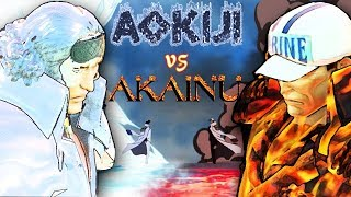 One Piece Pirate Warriors 3 Aokiji vs Akainu Level 100 Gameplay