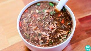 Hot n Sour Chicken Soup Recipe - Chicken Soup Recipe - Hot n Sour Soup Recipe