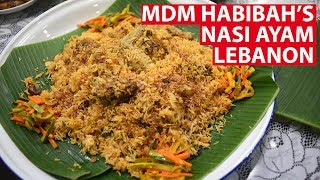 It's a nasi ayam done with a twist - one that uses Middle Eastern spices, but cooked to suit the Singaporean Malay palate. Producer Lam Shushan ...