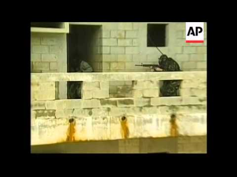 US forces in urban warfare drill