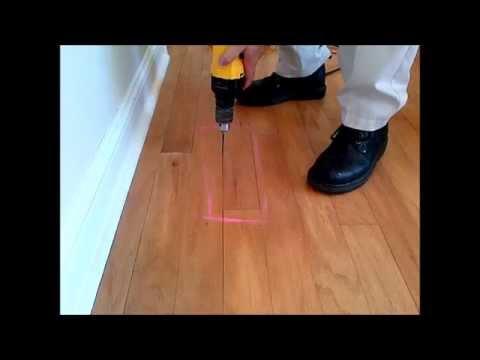 How To Fix Loose Squeaky Wood Floors Don T Remove Or Replace Just Drill Fill