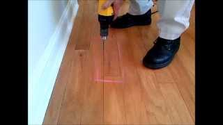 How-to Fix Loose & Squeaky Wood Floors! Don't Remove Or Replace! Just Drill & Fill