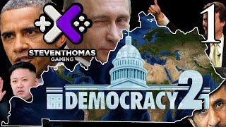 SKS Plays Democracy 2 Gameplay:  Learning the Basics [Episode 1]