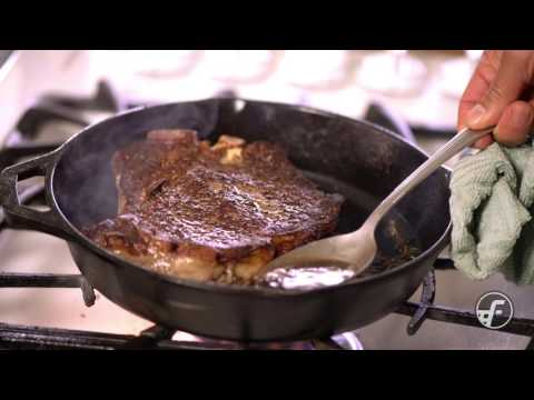 How To Make Pan Seared Butter-Basted Steak