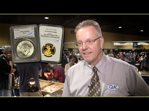 CoinWeek: QA Check Coin Stickering Service Reports Initial Results. VIDEO: 3:18.