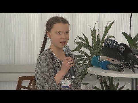 No Sweet-Talk: Der Appell von Greta Thunberg an die Mächtigen - hier in ganzer Länge