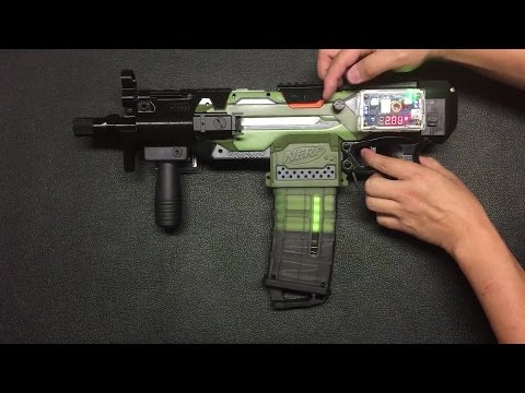 {Mod} Full auto Stryfe with adjustable Rate of Fire (ROF) - Part One