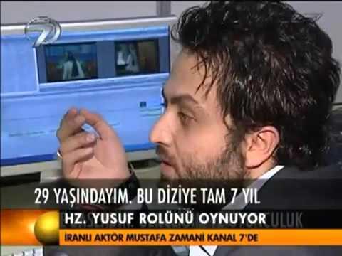 İranlı Aktör Mustafa Zamani Kanal 7'de/Iranian actor Mostafa Zamani at Kanal 7