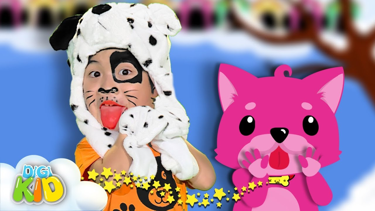 Baby Dog Dance | Baby Shark Cover Animals Songs | Song for kids by Digi Kids