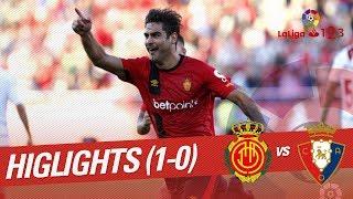 Resumen de RCD Mallorca vs C.A. Osasuna (1-0)