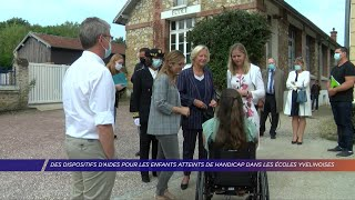Yvelines | Des dispositifs pour les enfants atteints de handicap dans les écoles yvelinoises