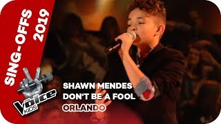 Shawn Mendes - Don&#39t Be A Fool (Orlando) Sing-Offs The Voice Kids 2019 SAT.1