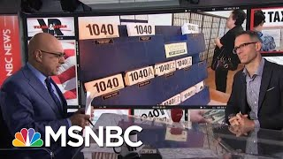 Tax Return Surprises Some Americans Are Facing This Year | Velshi & Ruhle | MSNBC