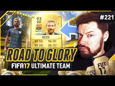 I PACKED MESSI!! - #FIFA17 Road to Glory! #221 Ultimate Team