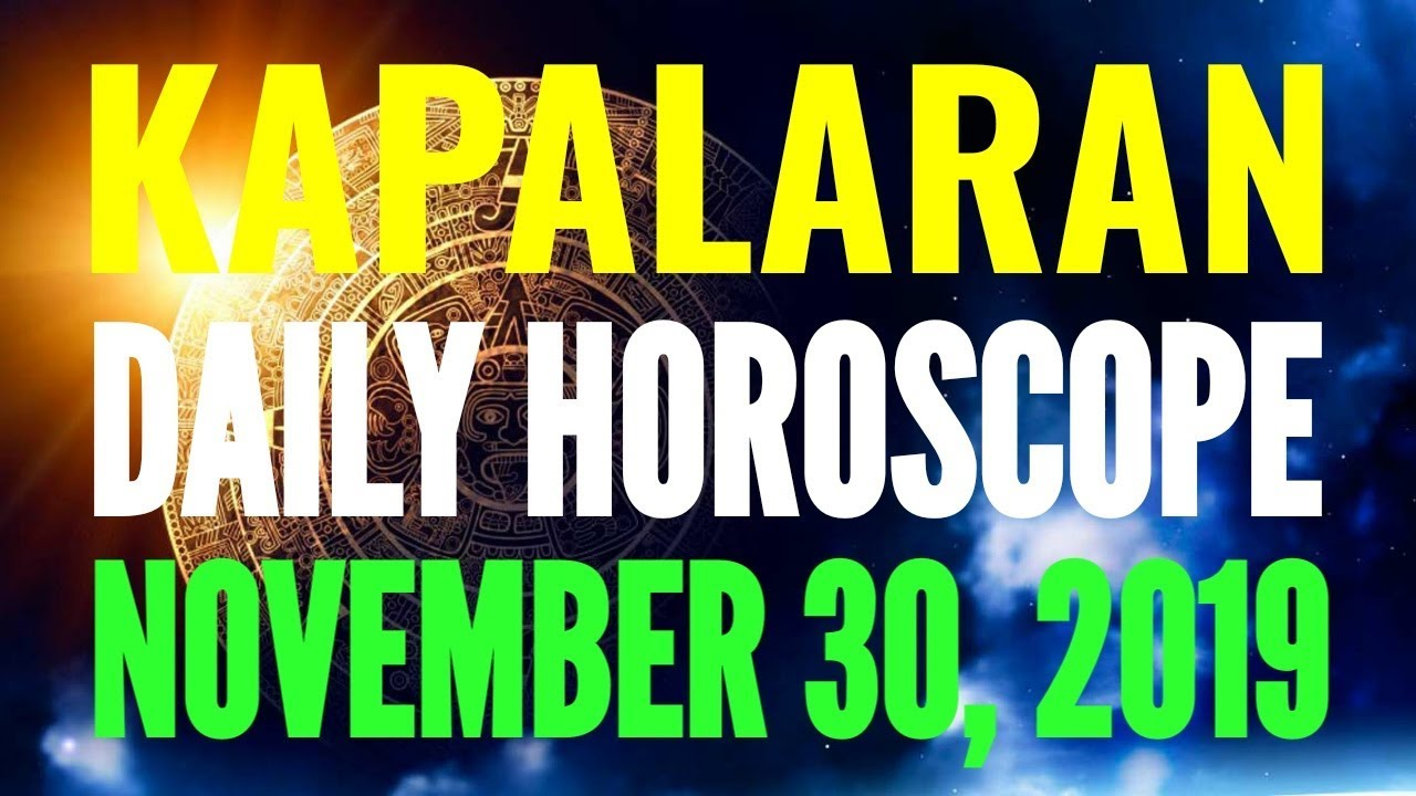 daily horoscope for march 30 2020