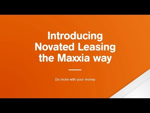 Maxxia Novated Leasing